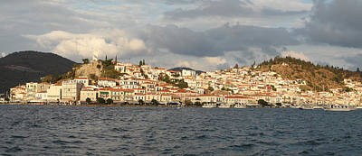 Photograph - Poros Town In Greece by Paul Cowan