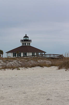 Photograph - Port Boca Grande Lighthouse by Ed Gleichman