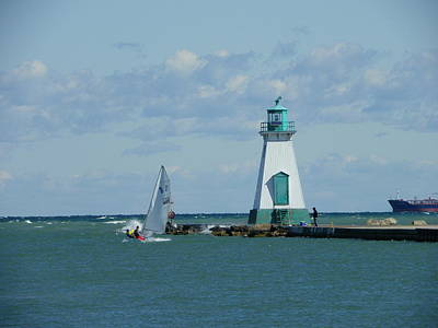 Photograph - Port Dalhousie Lighthouse by Peggy King