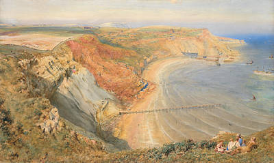On Paper Painting - Port Mulgrave by HB Richardson