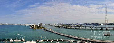 Port Of Miami Original by Dejan Jovanovic