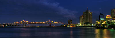Photograph - Port Of New Orleans by Bourbon  Street
