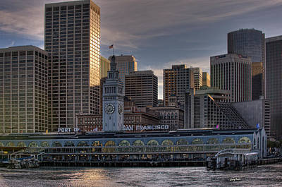 Photograph - Port Of San Francisco by Gary Rose
