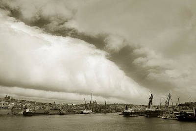 Photograph - Port Of Valletta. by Terence Davis