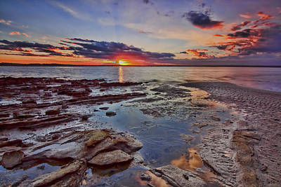 Photograph - Port Stephens Sunset by Paul Svensen