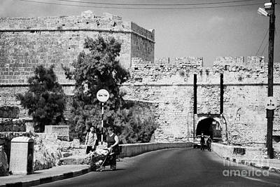 Porta Di Limisso Old Land Limassol Gate In The Old City Walls Famagusta Art Print by Joe Fox