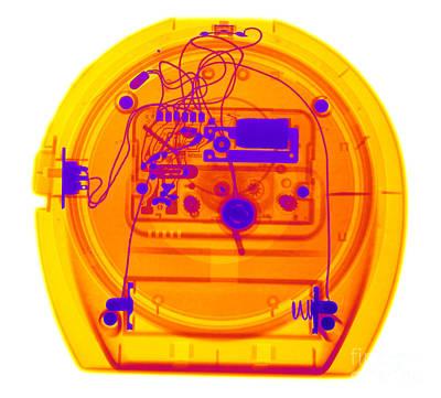 Portable Clock Print by Ted Kinsman
