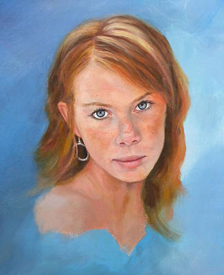 Painting - Portait Demo On Youtube Channel Neobarone by Richard Barone