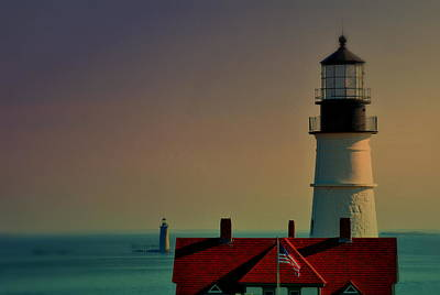 Maine Photograph - Portland Double by Emily Stauring