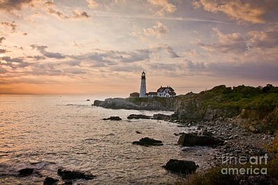 Photograph - Portland Head Dawn by Susan Cole Kelly