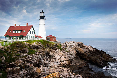 Photograph - Portland Head Light by Jason Smith