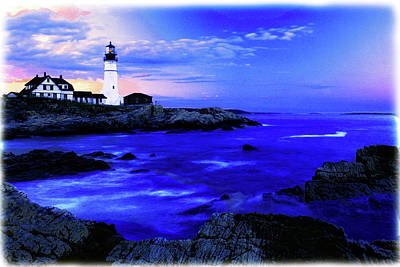 Portland Head Lighthouse Art Print by Fred Kirchhoff