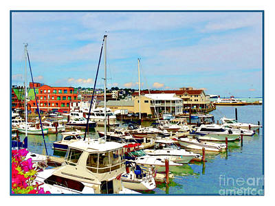 Photograph - Portland Maine Harbor by Joan  Minchak