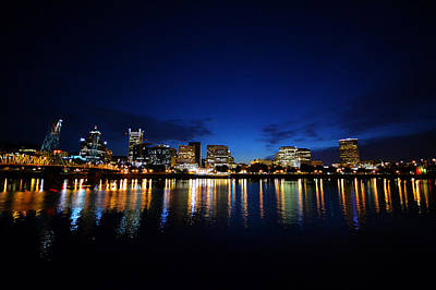 Photograph - Portland Sleeps by Matt Hanson