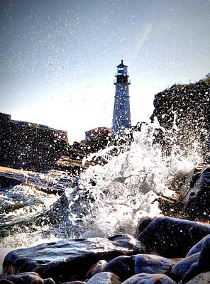 Photograph - Portland Under Splash by Emily Stauring
