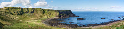 Photograph - Portnaboe Bay At Giants Causeway by Semmick Photo