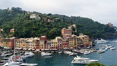 Portofino Dreaming Art Print by Marilyn Dunlap