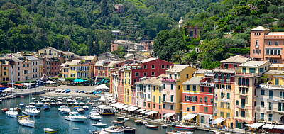 Photograph - Portofino Harbor by Corinne Rhode