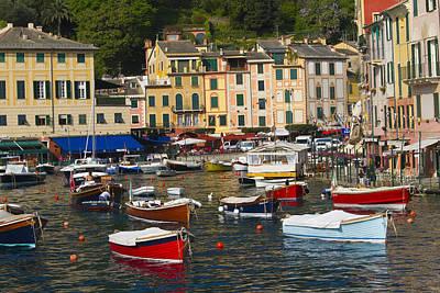 Photograph - Portofino In The Italian Riviera In Liguria Italy by David Smith