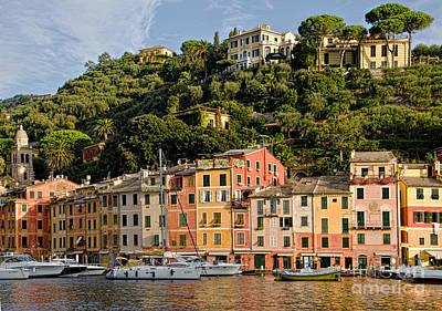 Photograph - Portofino Italy by Gerda Grice