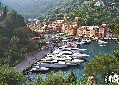Portofino Art Print by Marilyn Dunlap