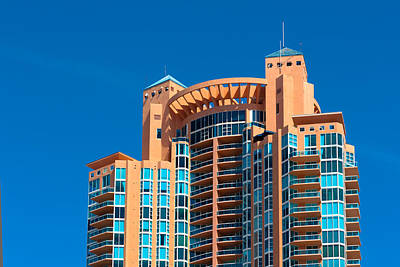 Portofino Tower At Miami Beach Art Print