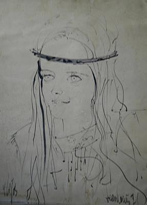Portrait 1971 Colette Art Print by Colette V Hera  Guggenheim