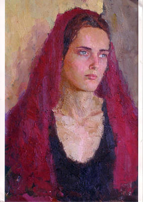 Painting - Portrait by Georg Ivosevic