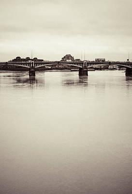 Photograph - Portrait Of A London Bridge by Lenny Carter