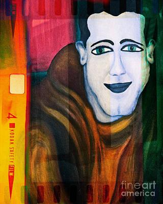 Portrait Of A Man 3 Art Print by Emilio Lovisa
