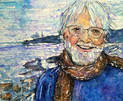 Portrait Of A Poet Original by Gloria Avner