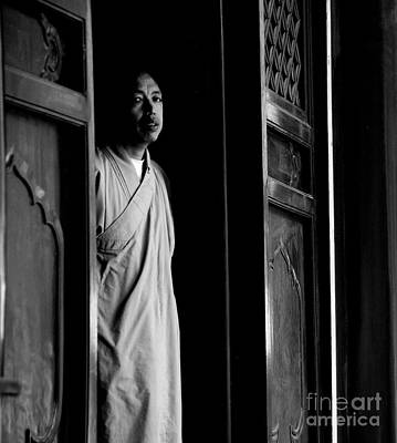 Photograph - Portrait Of A Shaolin Monk by Dean Harte