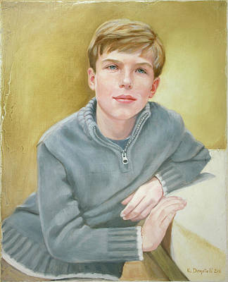 Painting - Portrait Of Henry by Kathryn Donatelli