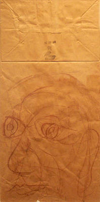 Portrait Of Picasso Art Print by John Neumann