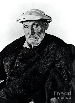 Portrait Of Renoir Art Print by Photo Researchers