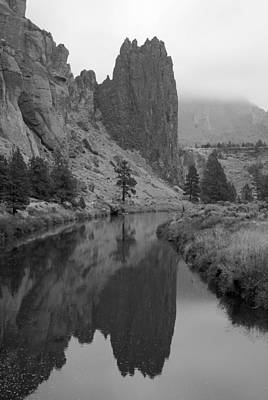 Crook Photograph - Portrait Of Smith Rock by Twenty Two North Photography