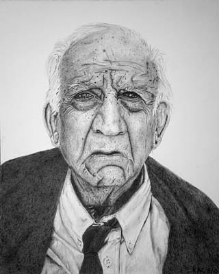 Portrait Of Wall Street Art Print by Kenny Chaffin