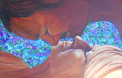 Painting - Portrait Of You And Me by Susan M Woods