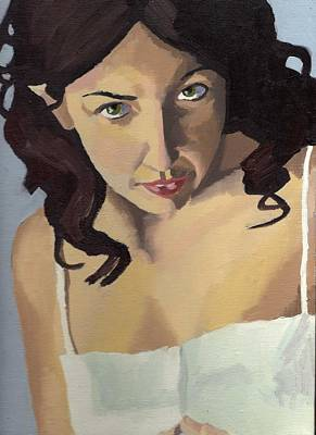 Painting - Portrait Of Zoe by Stephen Panoushek
