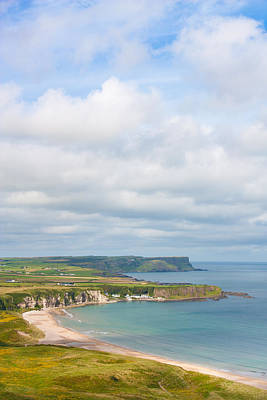 Photograph - Portrait View Of White Park Bay by Semmick Photo