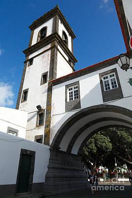 Portuguese Architecture Art Print by Gaspar Avila