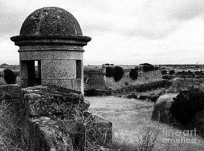 Garita Photograph - Portuguese Fortress by Gaspar Avila