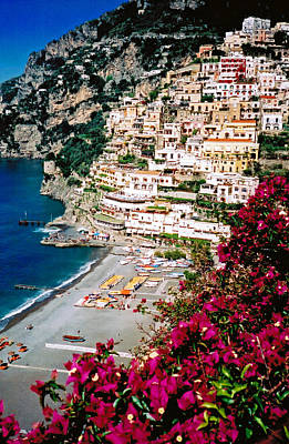 Photograph - Positano Italy Beach by Donna Proctor