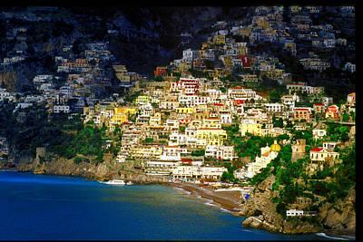 Photograph - Positano by John Galbo