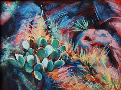 Painting - Positively Prickly by Peggy Wrobleski