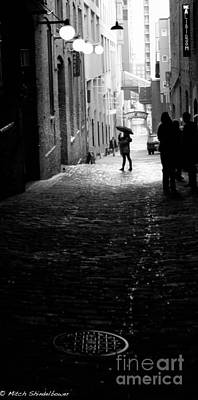 Art Print featuring the photograph Post Alley by Mitch Shindelbower