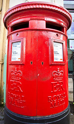 Post Box Photograph - Post Box by Tom Gowanlock