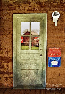Photograph - Post Office by Susan Candelario