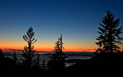 Photograph - After The Sunset by Robert Bales