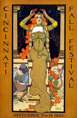 Poster For The Cincinnati Fall Art Print